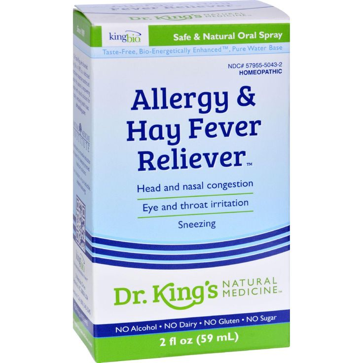 King Bio Homeopathic Allergies And Hay Fever - 2 Fl Oz