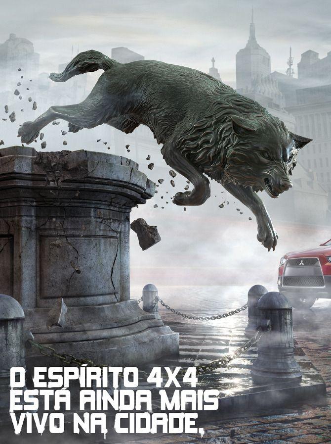 Lançamento Mitsubishi ASX - Bernardo Romero | Art Director