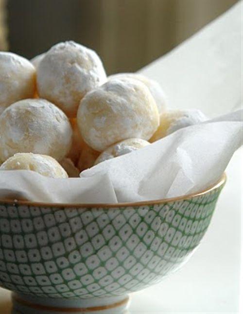 White Chocolate Lemon Truffles