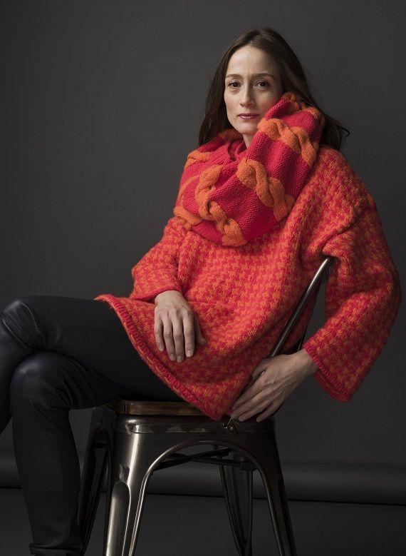 HANIA by Anya Cole Ray Sweater Fall/Winter 2015