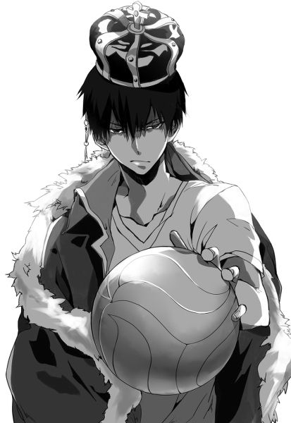 Kageyama Tobio gosh darn it can they STOP MAKING REALLY GOOD LOOKING ANIME GUYS