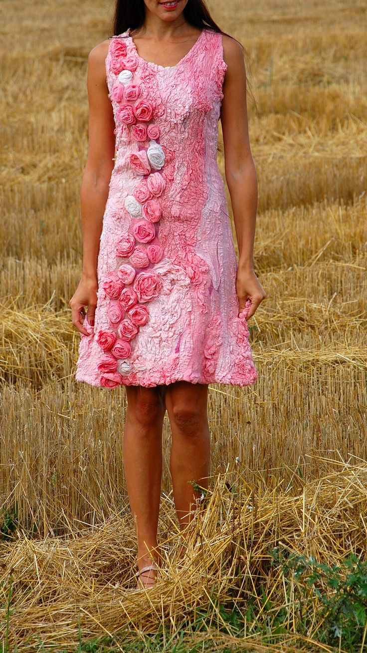 Felted dress by fancycolor