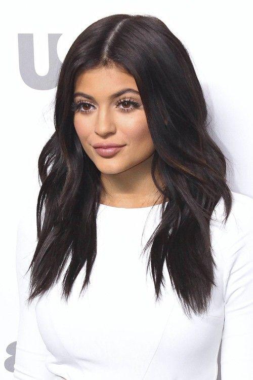 Medium hairstyle look #kylie