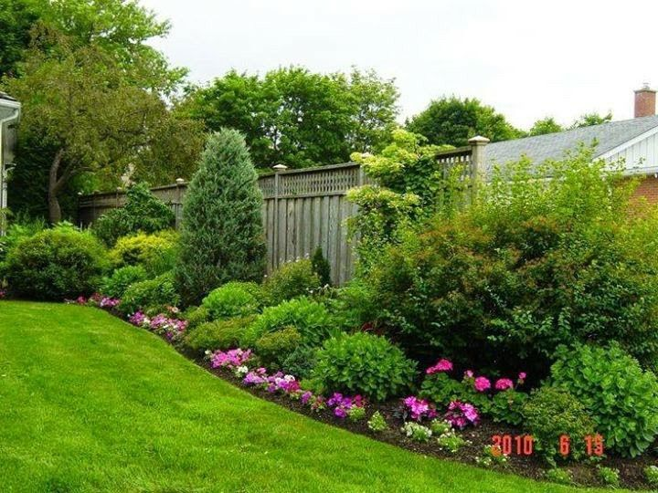 Jardín en desnivel
