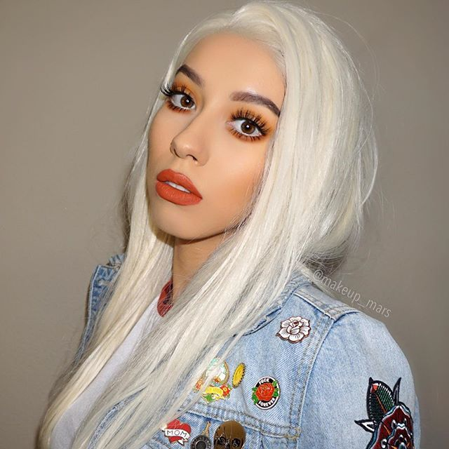 """Blondie ♀️(old pic)  @ofracosmetics """"Miami fever"""" on my lips (use my code…"""