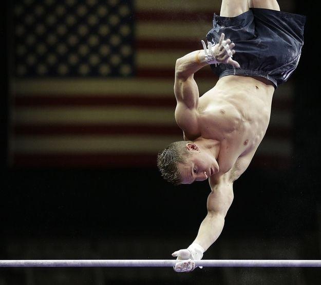 красивые голые гимнасты фото парни