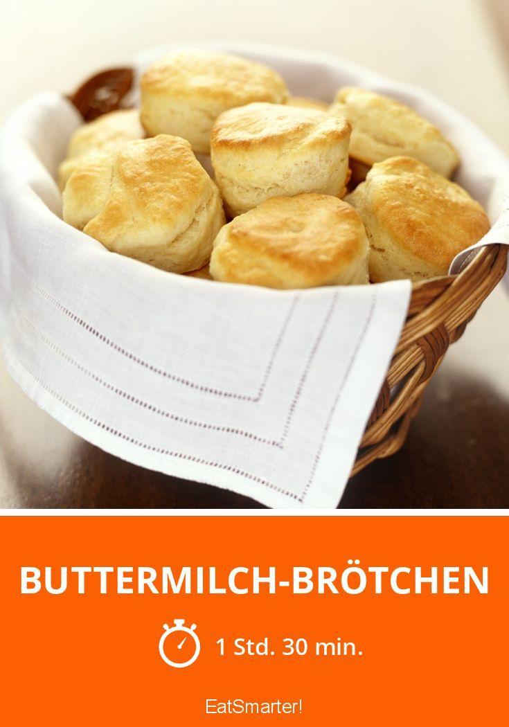 Buttermilch-Brötchen - smarter - Zeit: 1 Std. 30 Min. | eatsmarter.de