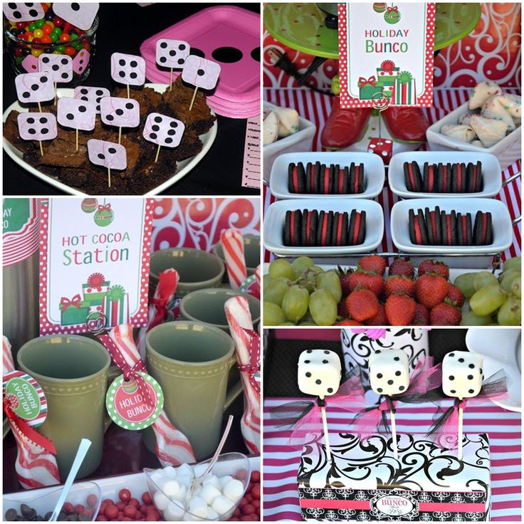 Bunco Party Ideas Food Bunco Dinner Party Menu Bunco Party Free Printables Bunco…