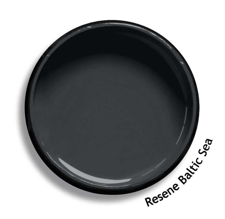 Resene Baltic Sea is a cold dark charcoal, contemporary and intrepid. From the Resene Multifinish colour collection. Try a Resene testpot or view a physical sample at your Resene ColorShop or Reseller before making your final colour choice. www.resene.co.nz