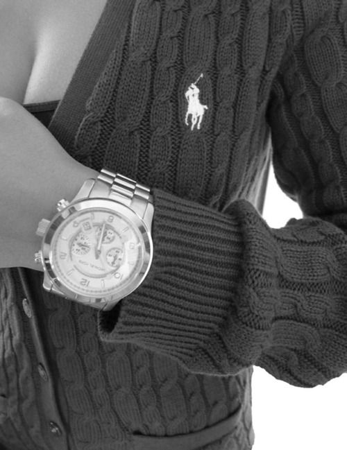 I may have a simple yet small obsession with polo ralph Lauren and Michael kors watches