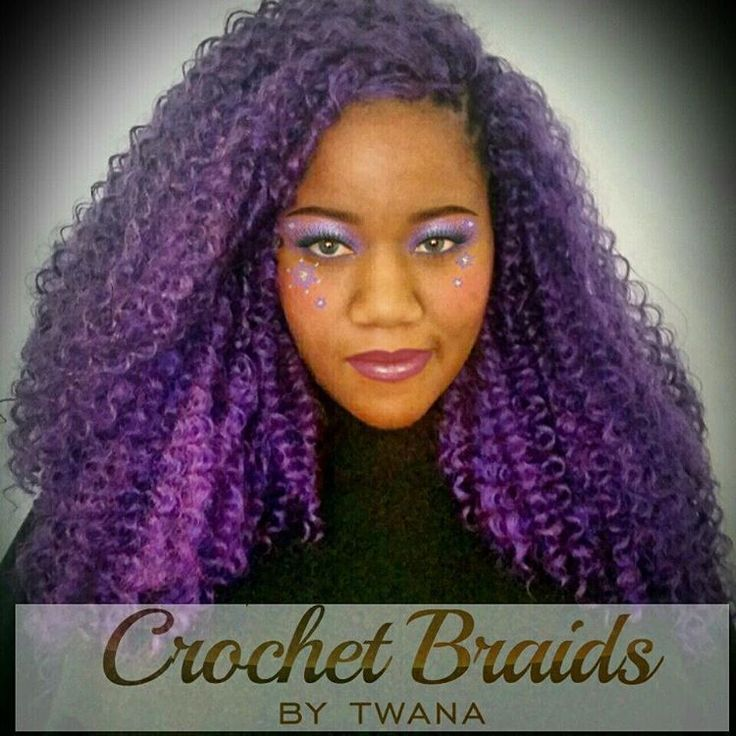 ... purple crochetbraids crochetbraids braids crochet briads crochet hair