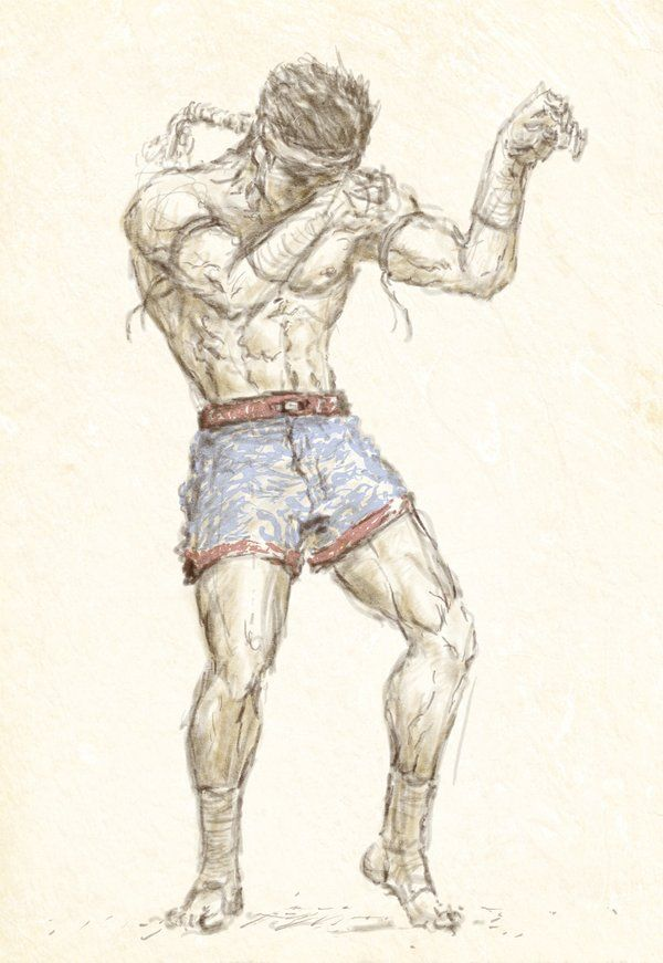 muay thai Painting