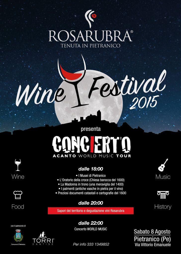 Rosarubra Wine Festival, a Pietranico degustazioni e musica - L'Abruzzo è servito | Quotidiano di ricette e notizie d'AbruzzoL'Abruzzo è servito | Quotidiano di ricette e notizie d'Abruzzo