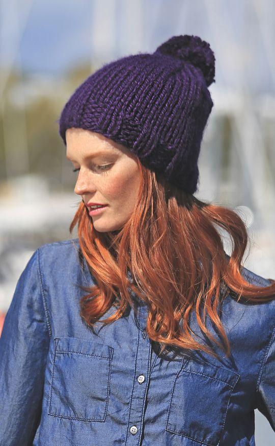 Stickad mössa och pulsvärmare Novita Pehmo | Novita knits
