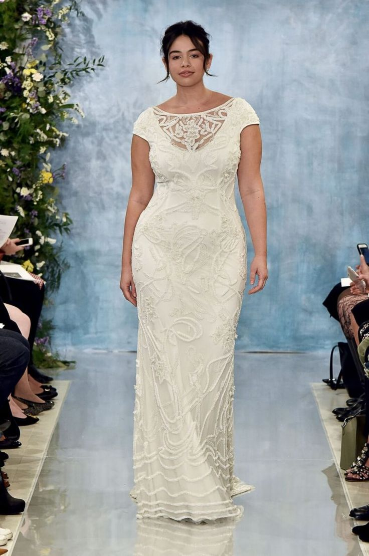 46 best Wedding dresses for curvy brides images on Pinterest ...