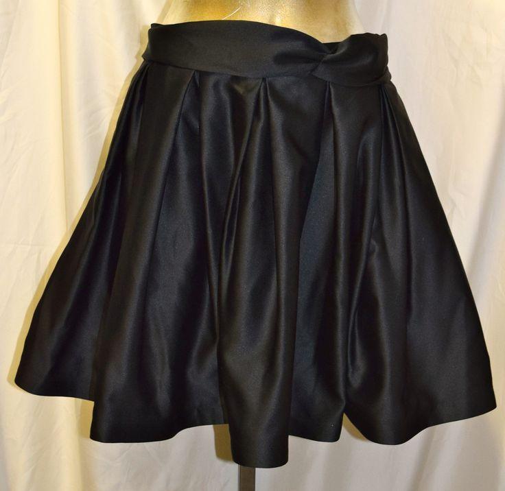Vintage Tadashi Black Short Skirt