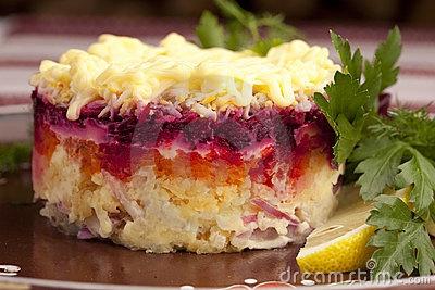 Russian Herring Salad