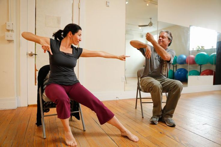 DAN LITTLE<br/>Instructor Michelle Marroquin and John McAvoy Tuesday during the Dance for Parkinson's Northampton class at Studio Helix.