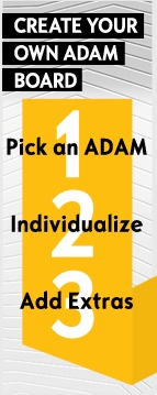 Great! You have chosen your color. Now you can individualize your ADAM here: http://pinterest.com/opelofficial/individualize/