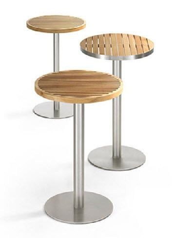 Best 25 high top tables ideas on pinterest high bar for Table triangulaire