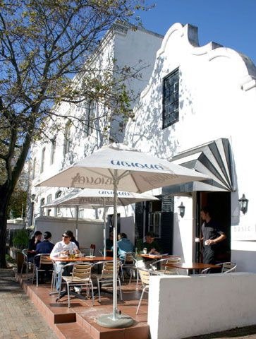 Bistro In Stellenbosch Restaurant District - South Africa