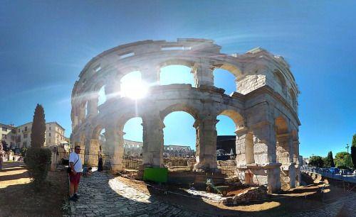 Arena in Pula, Istria, Croatia. #arena #pula #croazia #istria #holiday (presso Pula Roman Arena) ©Annalisa Turolla