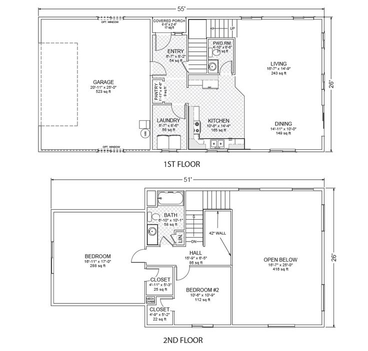 54 best home plans images on pinterest house floor plans for Accessory dwelling unit floor plans