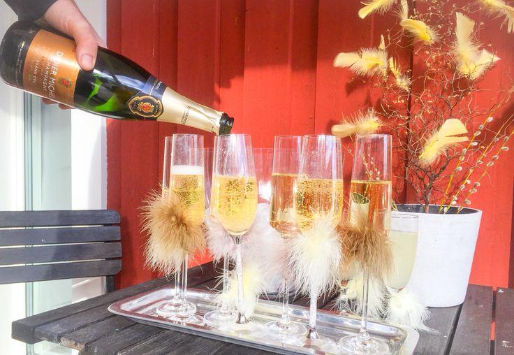 Påsk champagne