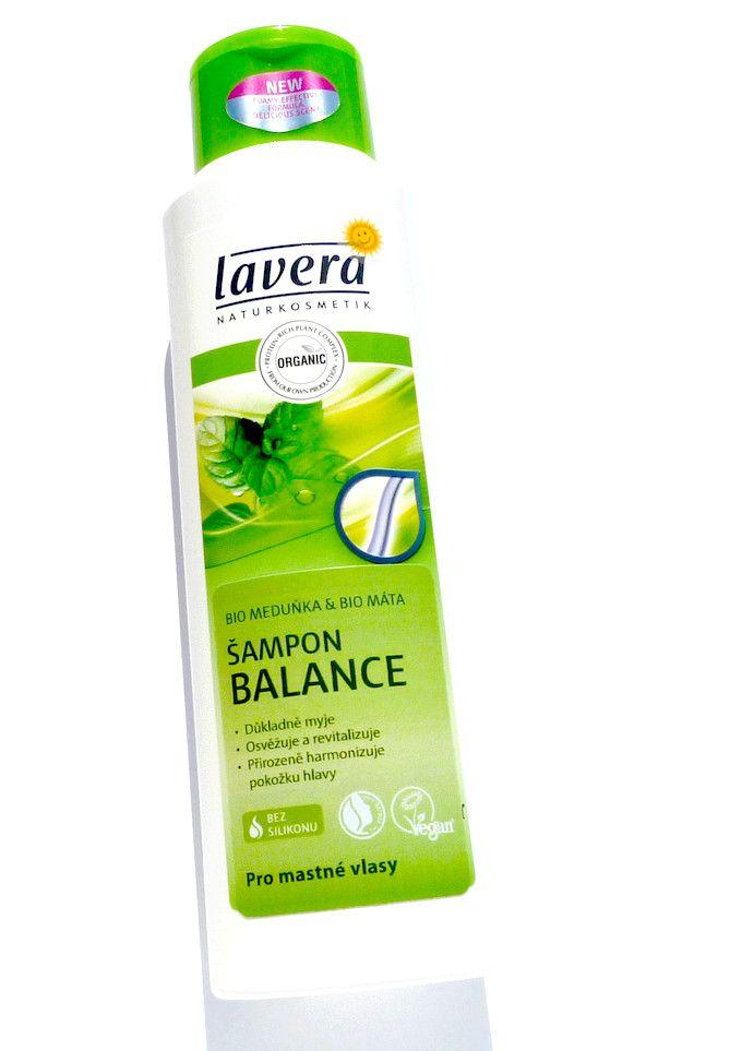 Lavera šampon Balance s bio meduňkou a bio mátou