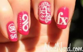 kpop nails :)