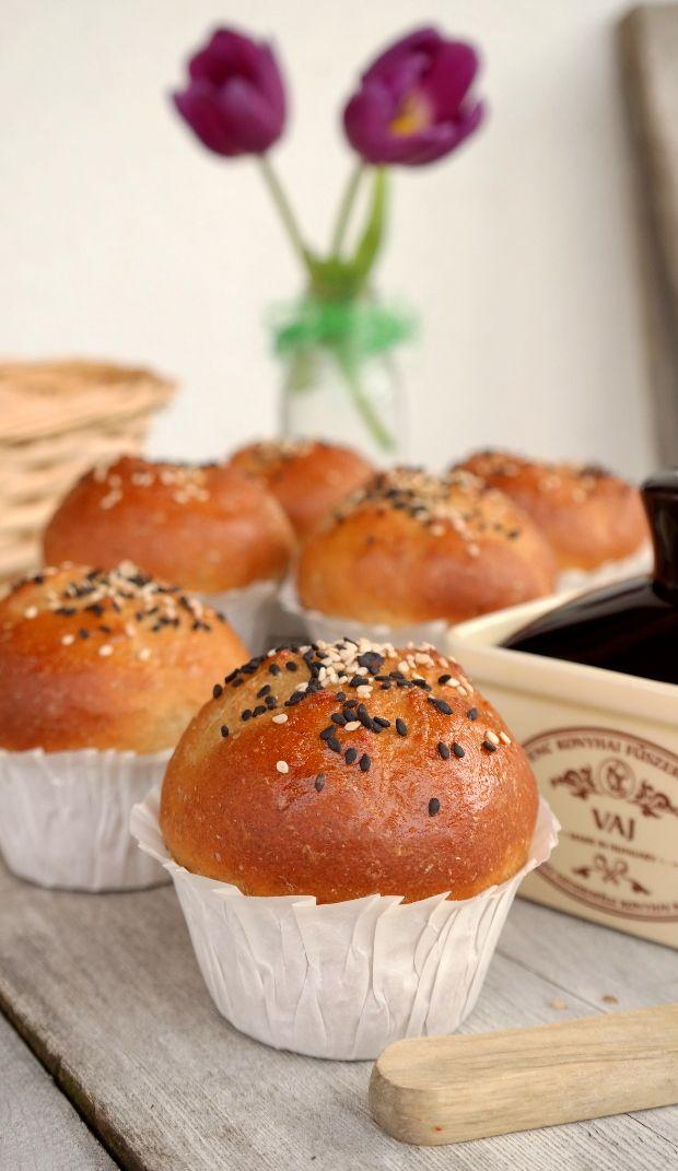 kenyérmuffin kész