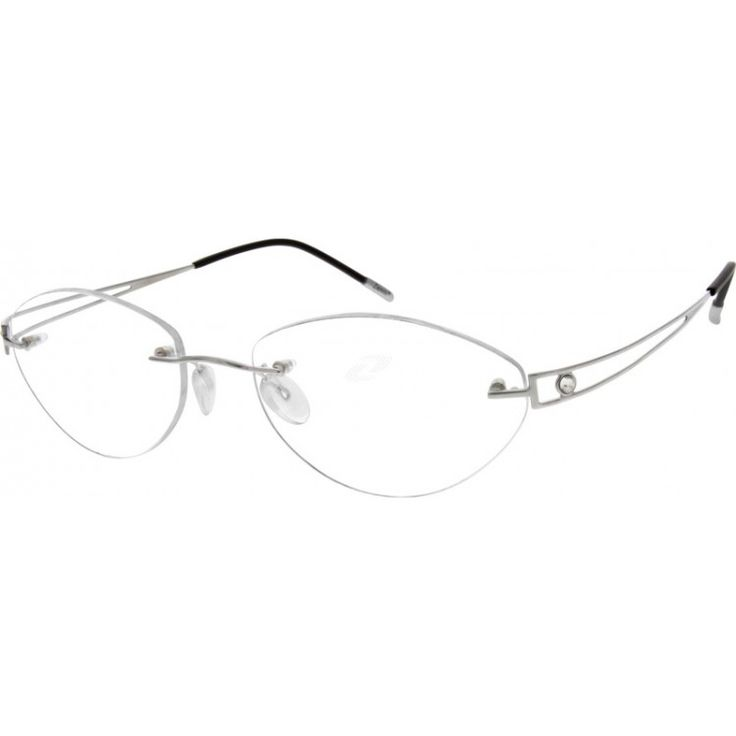 Rimless Eyeglasses Clear Bridge Louisiana Bucket Brigade