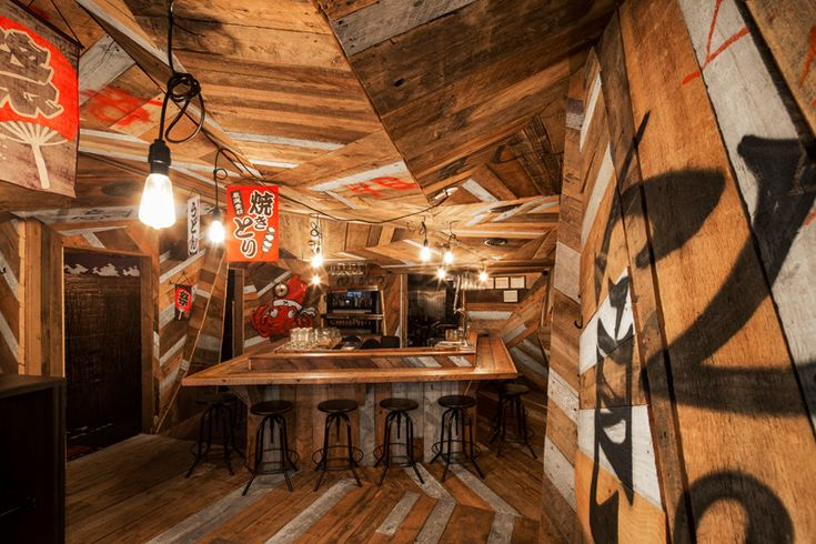 Jean de Lessard Designs A Japanese Izakaya That Is Deliberately Aggressive And Rough