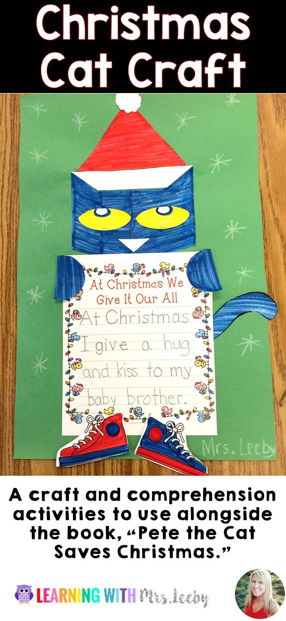 """This time of year is so important for comprehension. That's why I created this mini-pack; it contains everything that you need. The writing activity is differentiated for varying levels of ability and helps the student to make a connection to the story, """"Pete the Cat Saves Christmas."""" The …"""