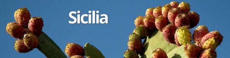 Percorso Sicilia in camper: costa est, costa sud ed estremo occidentale dell'isola.