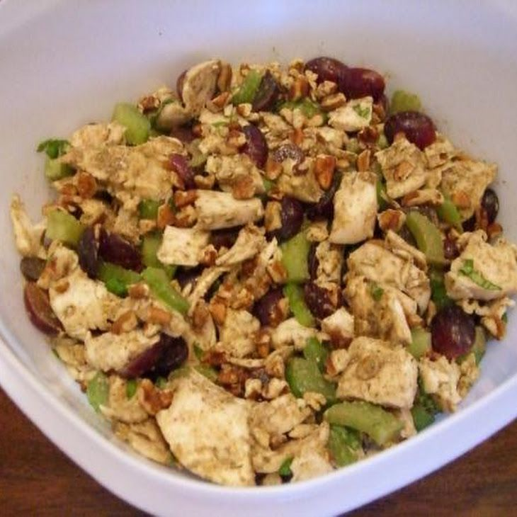 Balsamic Vinaigrette Chicken Salad. Different salad receipes inside link.