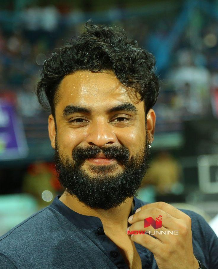 Tovino Thomas at Kerala Strikers CCL Match