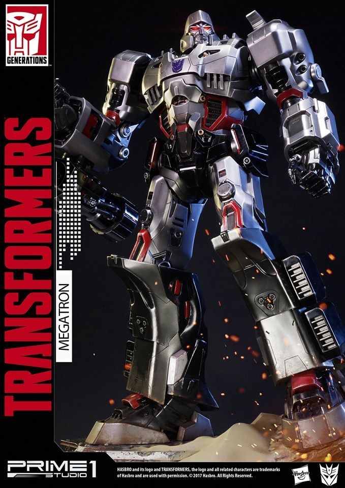 Transformers News: Official Images - Prime 1 Studio PMTF-02 Megatron