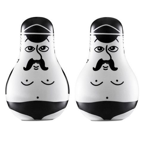 Normann Copenhagen Friends Salt & Pepper Set