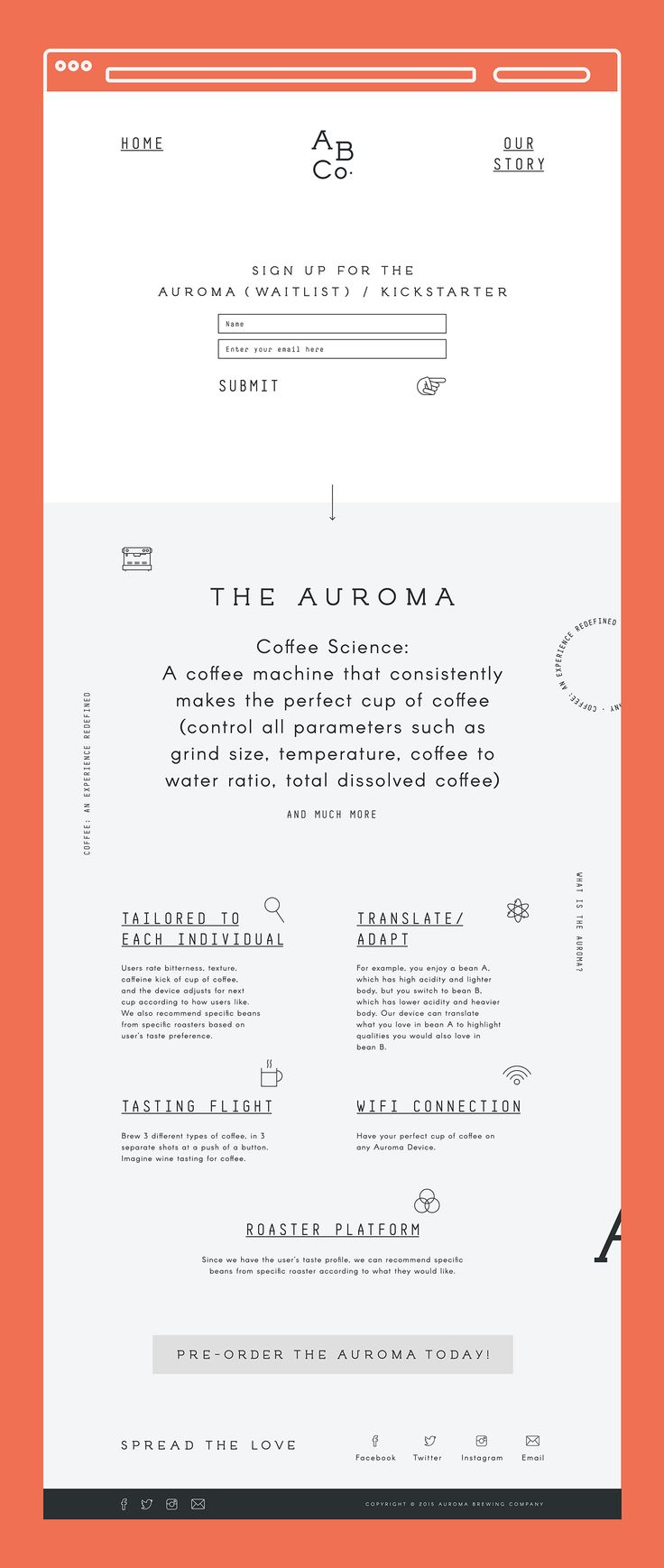 The Science of Art. Notably regarded with simplicity and functionality together with processes & ratio, brewing parameters and precision control to coffee grounds derives a unique product, the Auroma One - a coffee science machine invented and campaigned …