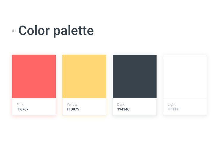 Color palette by Aurora Pleguezuelo