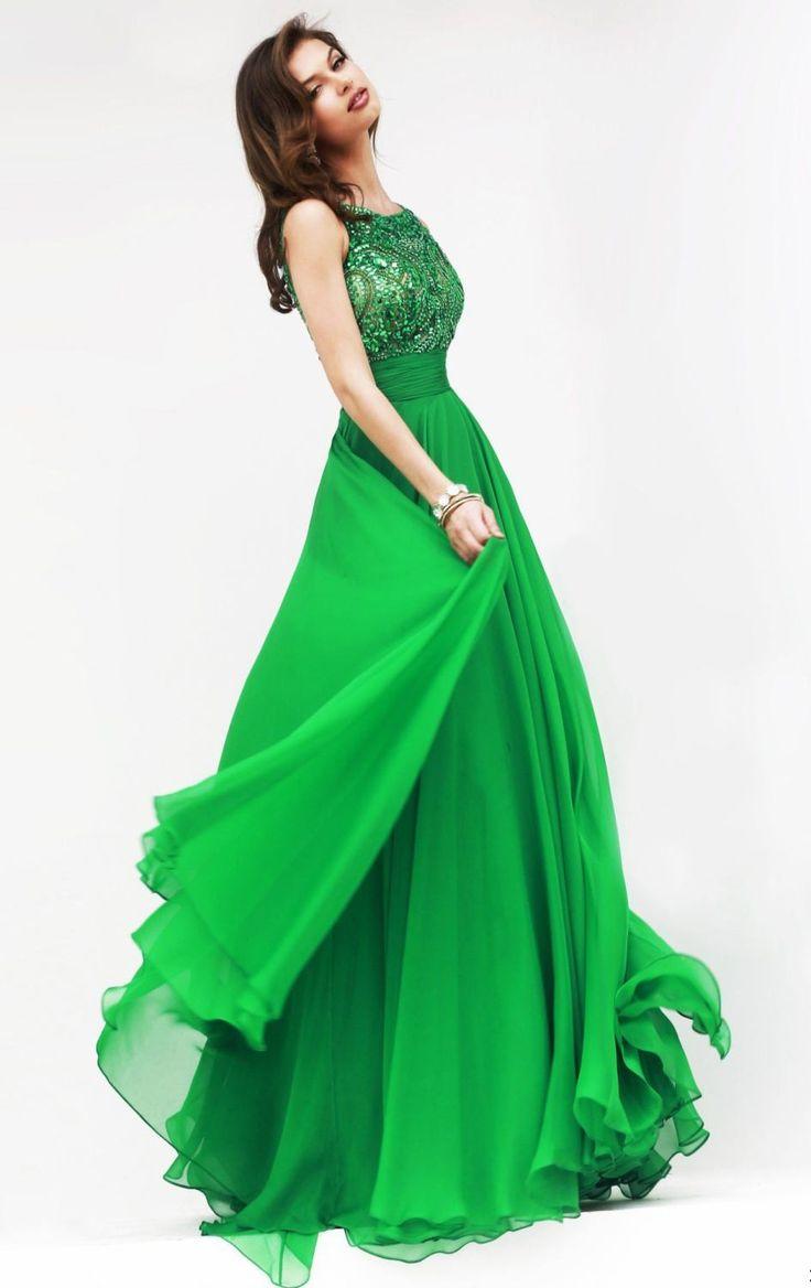 Colorful Kelly Green Prom Dresses Sketch - Wedding Dress Ideas ...