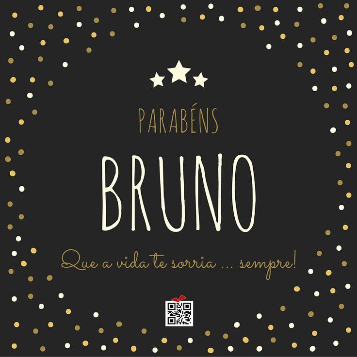 Postal de Aniversário para o Bruno                              …