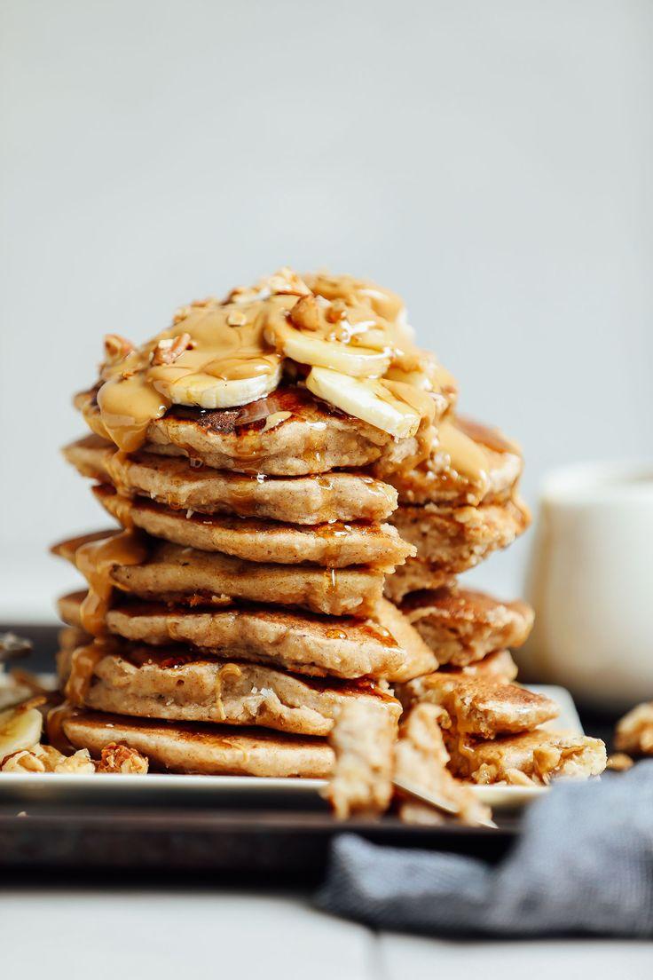 Vegan Gluten-Free Banana Pancakes   Minimalist Baker Recipes