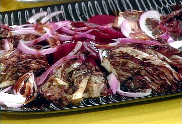 Grilled Radicchio Salad Recipe : Rachael Ray : Food Network ...