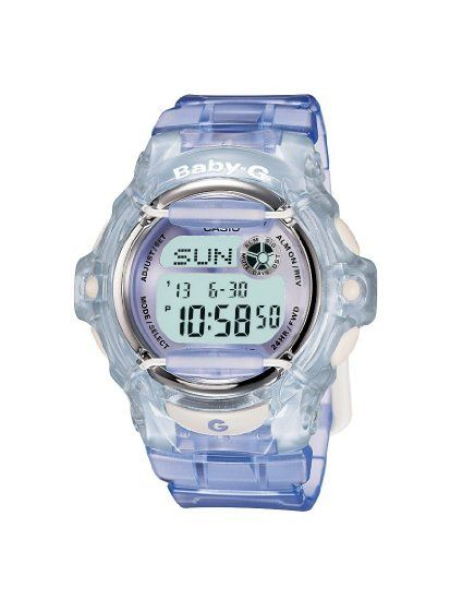 Casio BG-169R-6ER BABY-G ladies digital resin strap watch: Casio: Amazon.co.uk: Watches