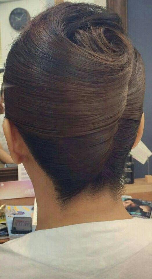 Ladies Hair Style In Long Hair Easy Classy Updos 20181219 Updos For Medium Length Hair French Twist Hair Long Hair Styles