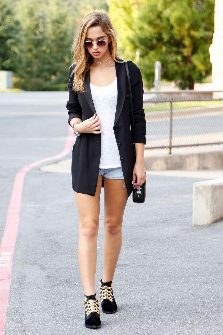 Black Tuxedo Shirt-Jacket