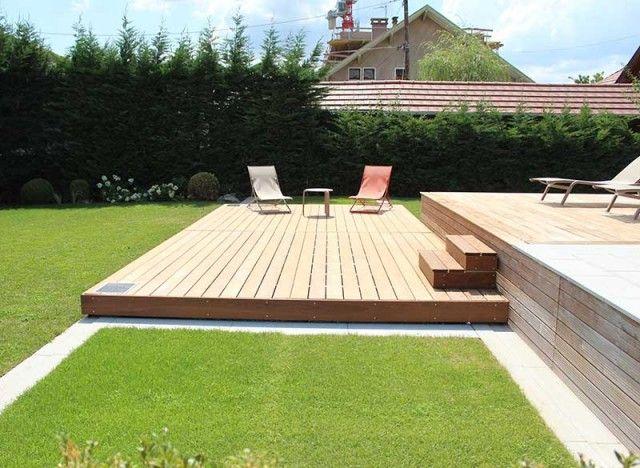 Kit Terrasse Mobile De Dimension 5 3 Ouverture Sur La Longueur En 2020 Terrasse Mobile Piscine Terrasse Decoration Exterieur