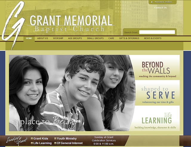 Grant Memorial Baptist Church by SunrizeGroup,  http://sunrize.bix